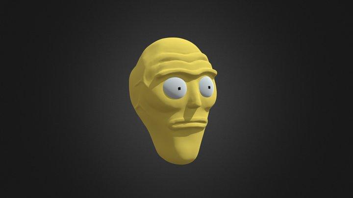 Cromulon sculpt 3D Model