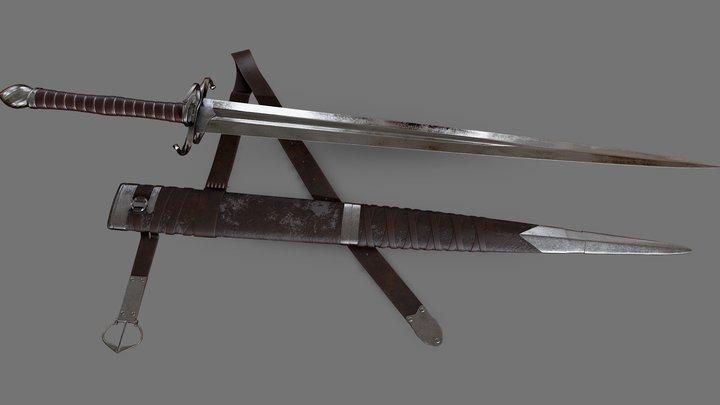 Longsword 3D Model