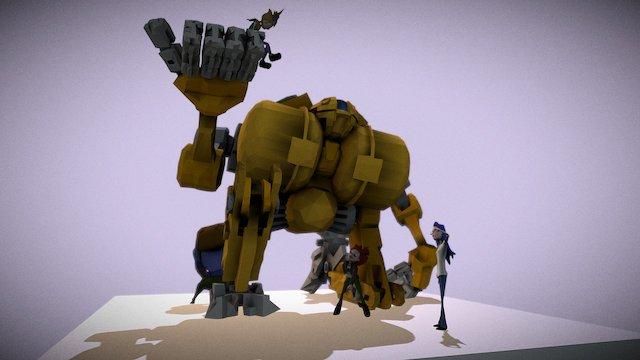 Grounded 3D Model