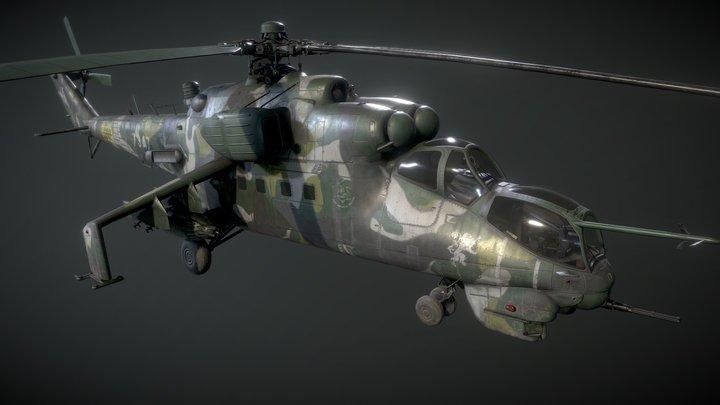 Mi24 3D Model