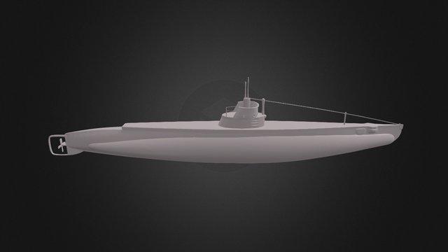 Submarino Quidora 3D Model