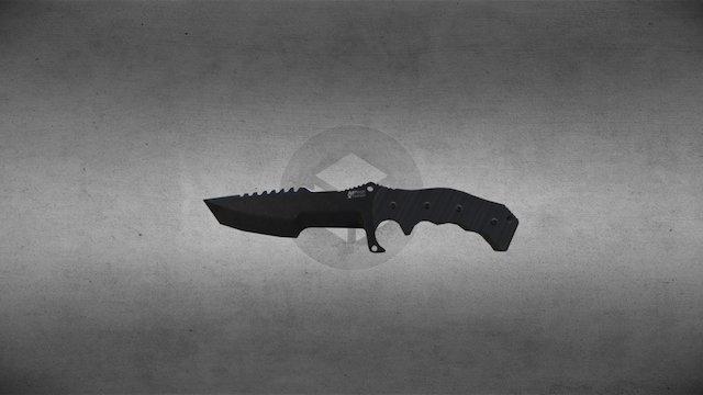 Combat Knife (MTECH USA XTREME MX-8054) 3D Model