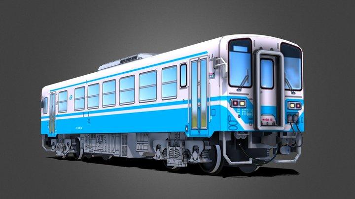 国鉄キハ32形気動車 KIHA 32 Diesel 3D Model