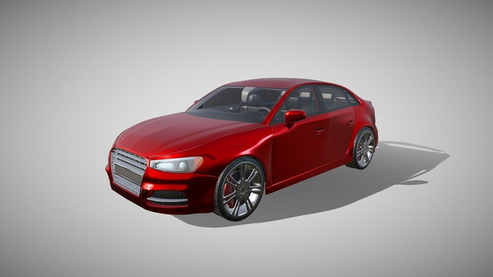 [Vehicle] Car 3D Model
