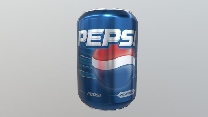 Pepsi Can Test 3D Model