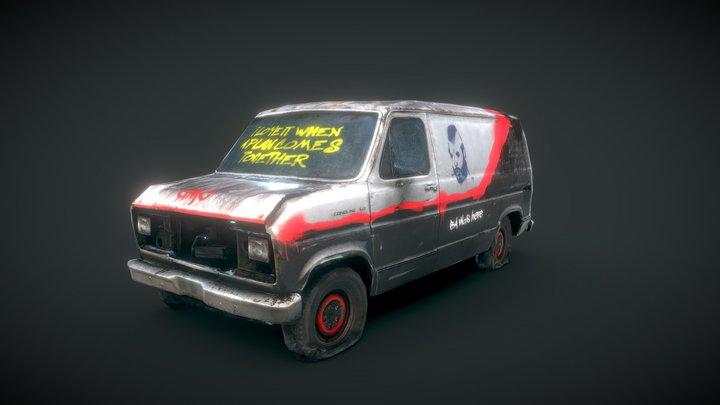 Sketchfab Texturing Challenge: Graffiti 3D Model