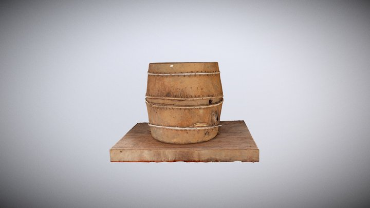 Drum Tay Nguyen 3D Model
