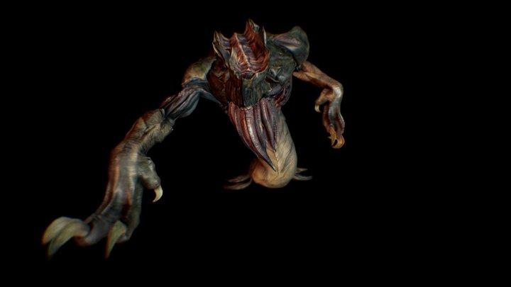 Dolmen Champion Boss 3D Model