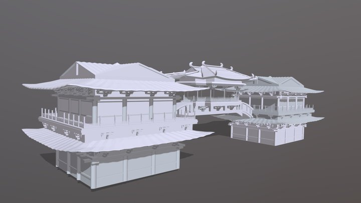Chinese Fantasy02 3D Model