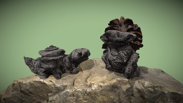 Rock Bois 3D Model