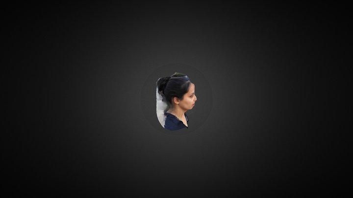 self portrait by racheli 3D Model