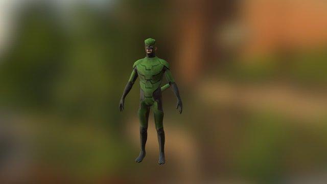 Suit Mesh 3D Model