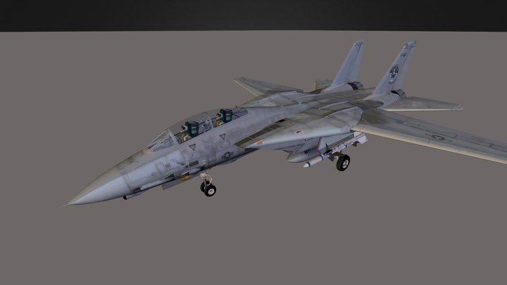 f-14 jet plane 3D Model