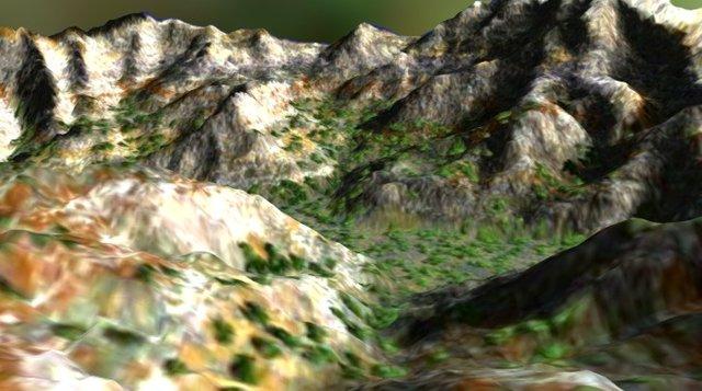 Kings Canyon 3D Model