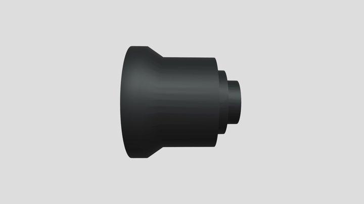 Aico 4mm lens for KOSMOS system 3D Model