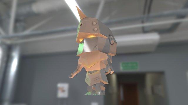 Alfondet fanart 3D Model