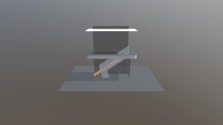 B�the-Treppe 3D Model