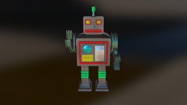 Robot 3D Print 3D Model