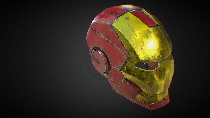 Iron Man Helmet 3D Model