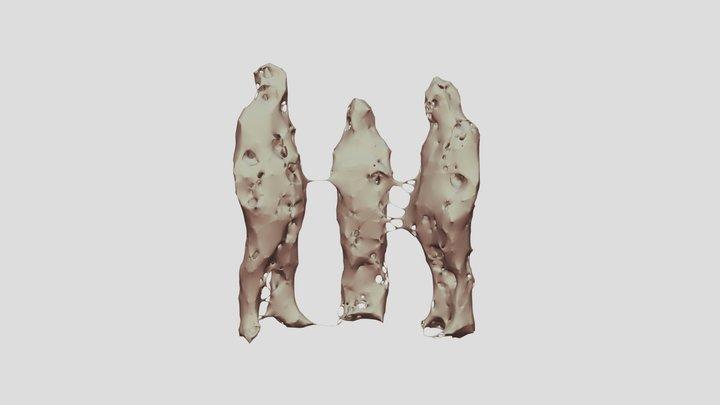 3people 3D Model