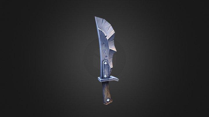 Brutal Cleaver 3D Model