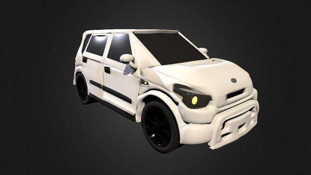 Kia Soul 3D Model