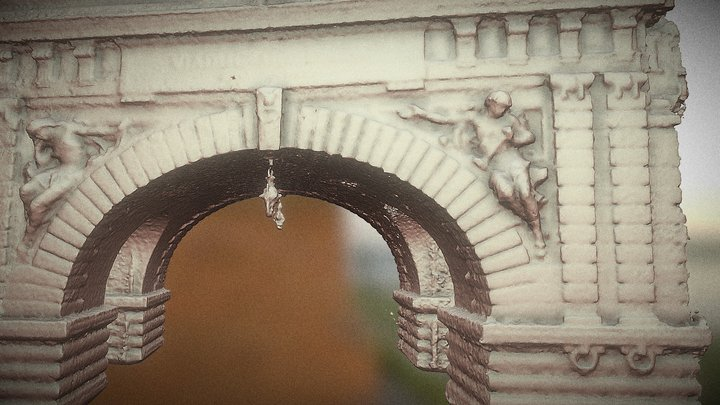 Porte de passy, Paris 3D Model