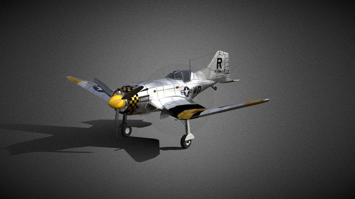 P-100 Avenger - FREE 3D Model