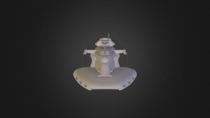 Trade Federation Tank 3D Model