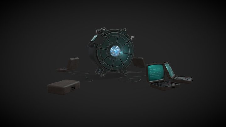 Corcoran's machine 3D Model