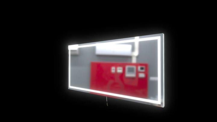 Harmony backlit 70x32 3D Model
