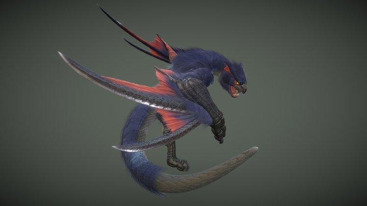 Nargacuga 3D Model