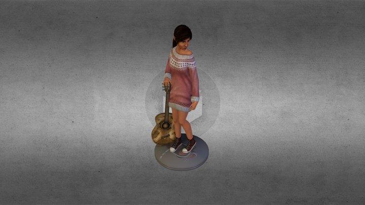 Silja - Game Character 3D Model