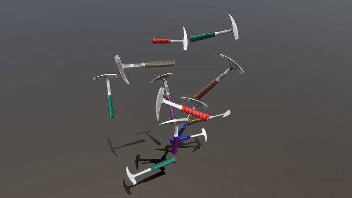 Geological hammers 3D Model