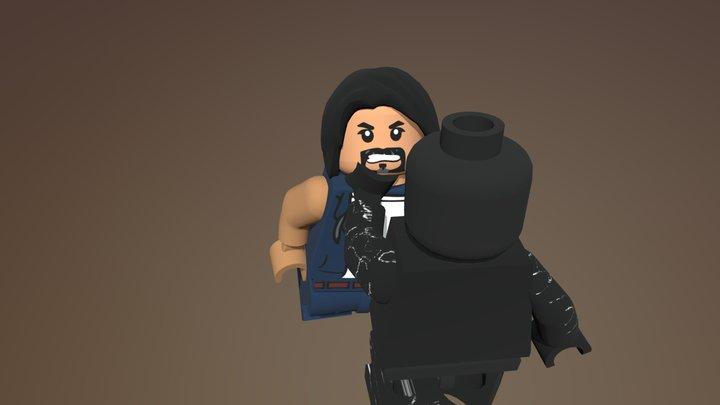 Venom (2018) - We Are Venom Scene 3D Model
