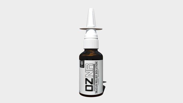Nasal Spray 3D Model