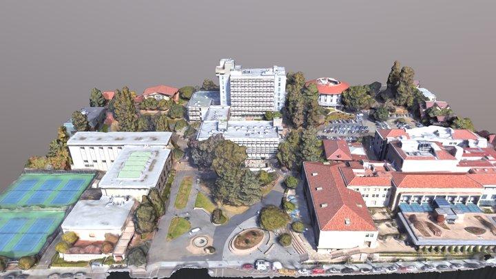 Wurster Hall, U.C. Berkeley 3D Model