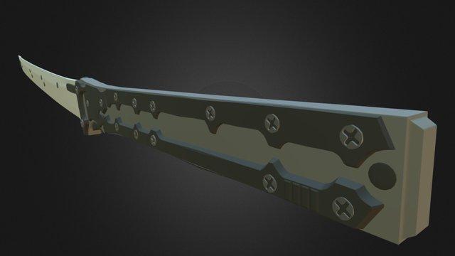Raiden's Blade 3D Model