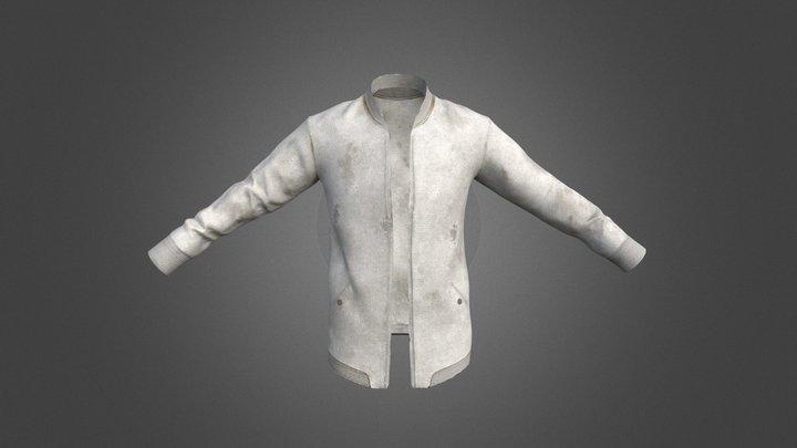 White Sweater 3D Model