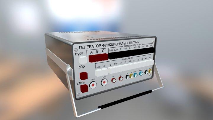 Functional generator GF-07 3D Model