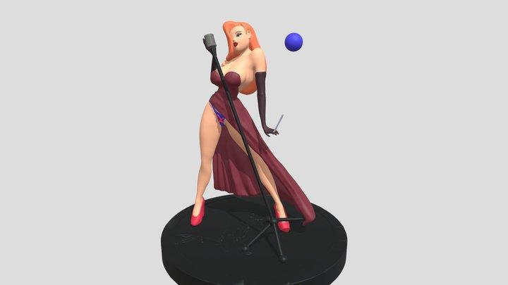 Jessica Rabbit 3D Model