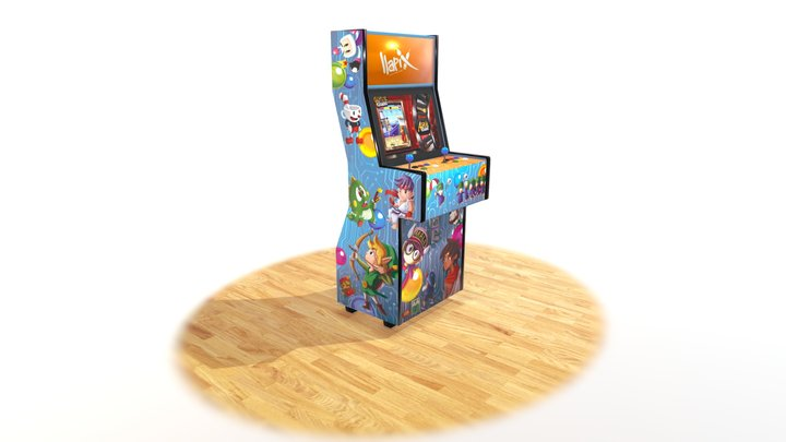 Maquina Recreativa arcade 3D Model