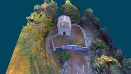 Romanesque: St. Serni del Grau 3D Model