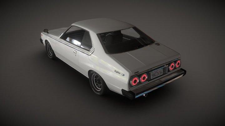 1978 Nissan Skyline 3D Model