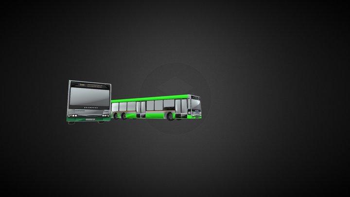 Городской автобус Волжанин-6270.00 Ситиритм-15 3D Model