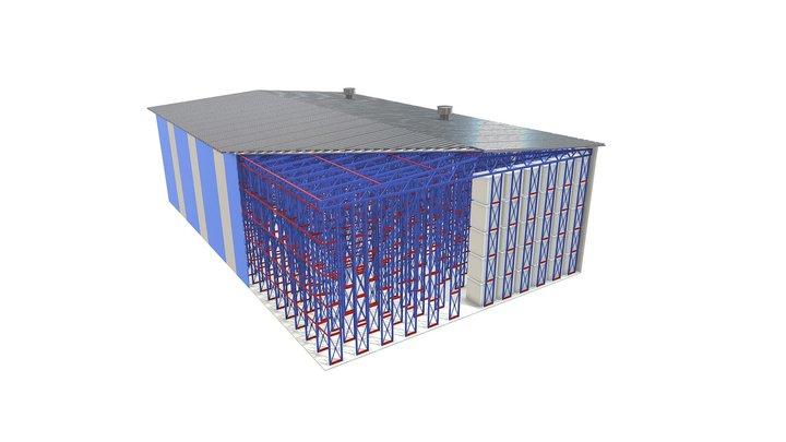 Каркас 3D Model