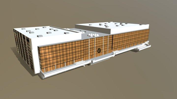 Palast der Republik 3D Model