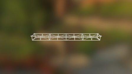 Box Truss 3D Model