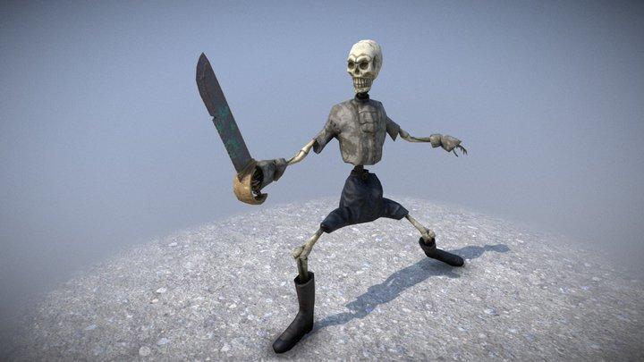 skeleton Pose 3D Model
