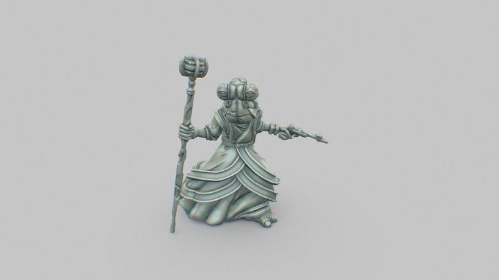 Murne Rin - Imperial Assault 3D Model